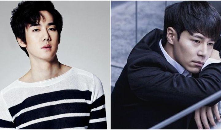 Yoo Yeon Seok y Lee Kyun Hyung en Teatro Musical