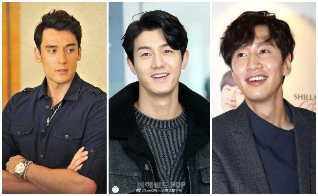 Julien Kang, Lee Ki Woo y Lee Kwang Soo
