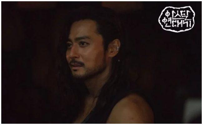 "Jang Dong Gun como Ta Gon en ""Arthdal Chronicles"""
