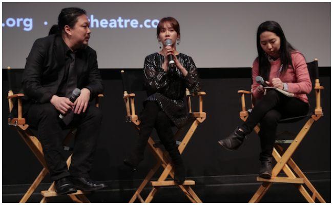 Entrevista a la actriz Han Ji MIn como embajadora del Winter Snowcase de NYAFF.