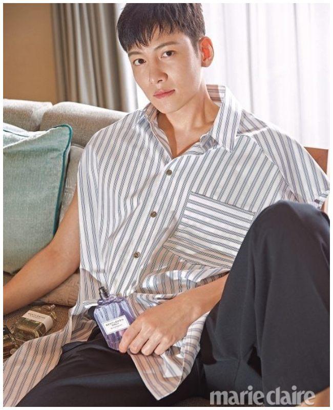 Ji Chang Wook para la revista Mari Claire Corea del Sur.