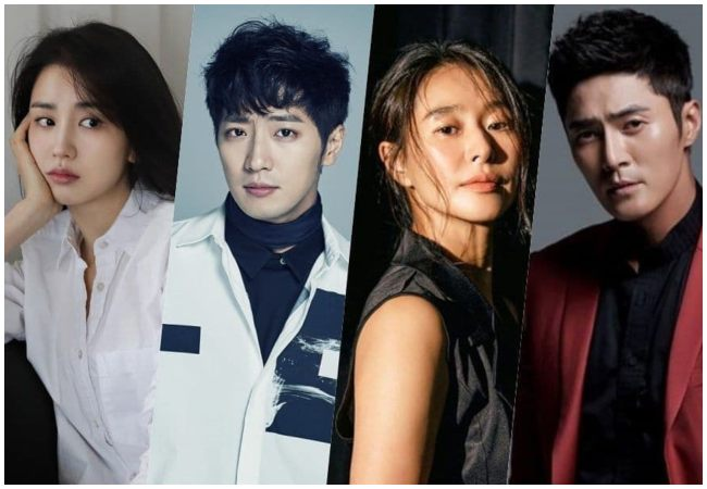 "Protagonistas para la serie dramática""Love Affairs in the Afternoon""."