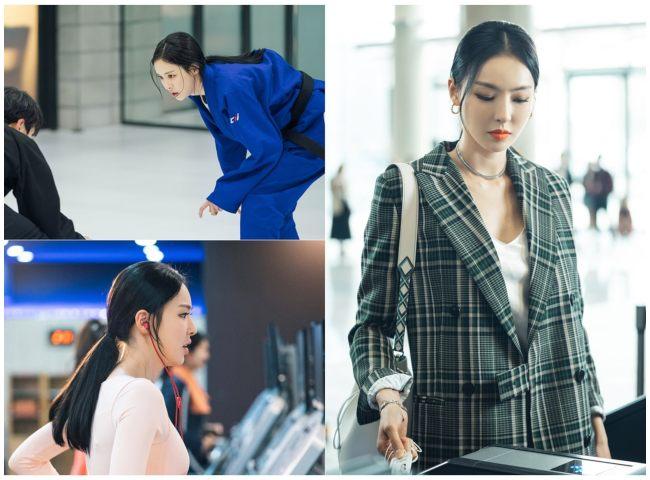 """Lee Da Hee una de las protagonistas de """"WWW""""."""